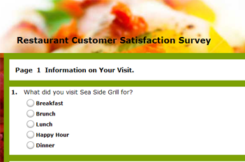 eliciting customer feedback in restaurant Are you a customer of hooters restaurants tell your recent dining experience in the hooters customer satisfaction survey your responses will help hooters improve and offer you more exceptional service on your next visit.