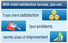 Survey Software Client Satisfaction Survey